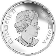 Canada / 10 Dollars / Silver .9999 / 15.87g / 34mm / Design: Susanna Blunt (obverse) / Mintage: 12,500.
