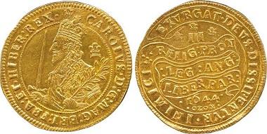 Lot 999: Charles I (1625-1649), Gold Triple Unite, 1644. Sold: £74,400.
