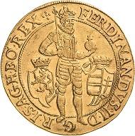 Los 1931: Ferdinand II. 10 Dukaten 1631, Prag. Friedberg 38 (Böhmen). Sehr selten. Schätzpreis: 15.000 Euro.