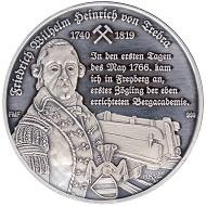 Rückseite der Jubiläumsmedaille 250 Jahre Lehrbetrieb.