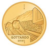 Schweiz / 50 CHF / .900 Gold / 11,29 g / 25 mm / Design: Fredy Trümpi / Auflage: 4.500 (Polierte Platte).