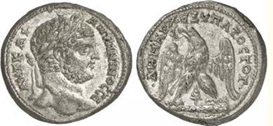 CARACALLA. Tetradrachme. Ex Helios 5 lot n. 1146. 12,96 g.