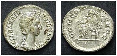 ORBIANA. Denar. Ex Tkalec (22/04/07) n. 285. 3,35 g.