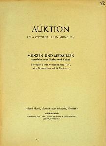 Lot 77: Gerhard Hirsch, Auction Catalogues. Munich, 1953-2015. Start price: $850.