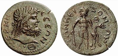 TERMESSOS. Bronze. Ex Lanz 144 n. 260. 15,04 g.