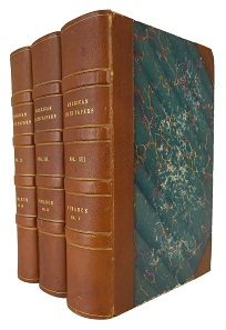 Lot 376: United States Government, American State Papers, volumes III-V. Washington, 1834-59. Ex Harvard's Baker Library. Start price: $425.