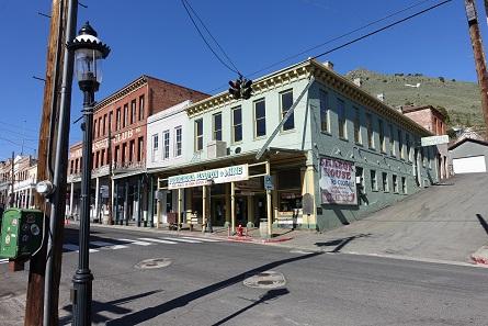 Ponderosa Saloon, the former Bank of California. Photograph: UK.