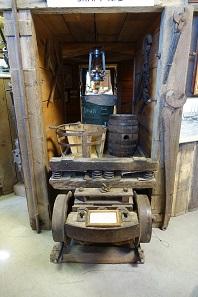 Ein Grubenhund aus der Comstock Mine. Foto: UK.
