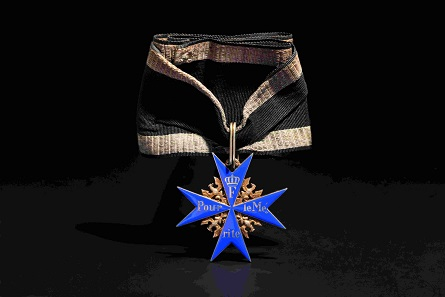 Generalmajor Wilhelm von Groddeck, Orden pour le mérite. Zuschlag: 17.000 Euro.