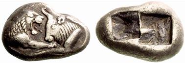KROISOIS. Hemistater. Ex Lanz 144 n. 252. 5,21 g.