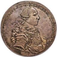Altdeutschland. Fürstenberg-Stühlingen. Joseph Wenzel, 1762-1783. 4 Taler 1767. Aus Sammlung Cape Coral. NGC MS64.