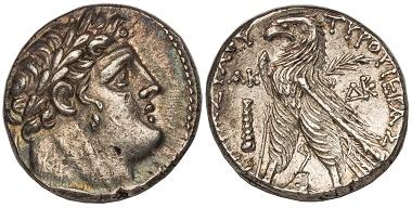 Greek. Phoenicia. Tyre. Shekel.