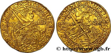 Lot 390461: Germany, Saxony, John George I., ducat