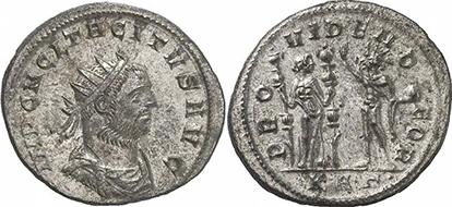 TACITUS. Antonianus. Ex Gorny & Mosch 191 n. 2350. 4,19 g.