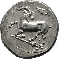 Los 69: Kilikien, Kelendris, Stater 425/400 v. Chr. Unpublizierte Variante. Vorzüglich.