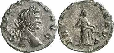 GALLIENUS. Denar. Ex Gorny & Mosch 191 n. 2321. 1,91 g.