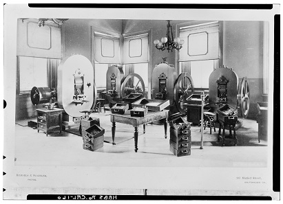 Ein Blick in den Prägesaal. Foto: Library of Congress. HABS CAL,38-SANFRA,5-31.