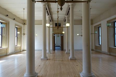 Ein weiterer der renovierten Räume. Foto: UK.