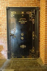 Der geschlossene Safe. Foto: UK.