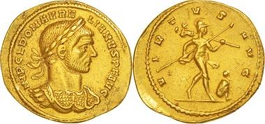 Aurelian, Aureus Not Applicable. Milan.