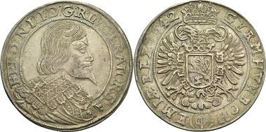 HRR, Ferdinand III. Reichstaler 1642.