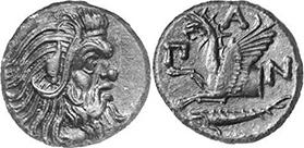 PANTICAPAEUM. Bronze. Ex Gorny 142, lot. n. 1206. 6,39 g.