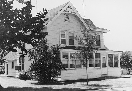The parental home in Iola, Wisconsin, where Chet prepared his first Numismatic News issues. Photograph: Krause Publications.