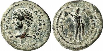 HADRIAN. Bronze. Ex Gorny & Mosch 186, lot n. 1626. 2,78 g.