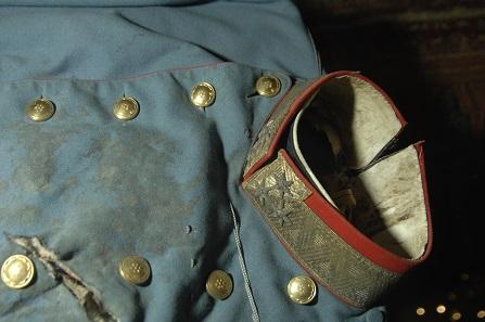 Detail der blutigen Uniform des Thronfolgers. Foto: © HGM/MHI.