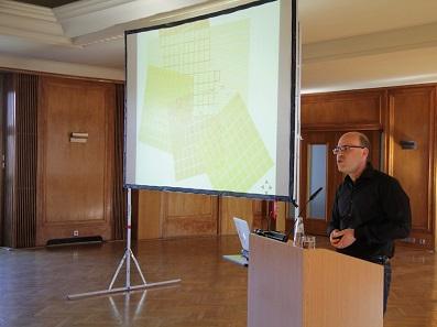 Den Abendvortrag hielt Dr. Noah Bubenhofer (Universität Zürich, Leiter