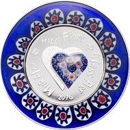 Cook Islands / 5 Dollar / .999 Silber / 20 g / 65 mm / Design: Coin Invest Trust / Auflage: 999.