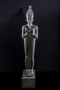 Statue of Osiris, Egyptian Museum Cairo (JE30997, CGC 38231). Grey-green Graywacke, H. 1.50 m. © Franck Goddio / Hilti Foundation - Photo: Christoph Gerigk.