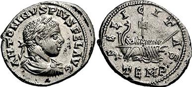 ELAGABALUS. Denar. Ex Lanz 150 n. 349. 2,71 g.