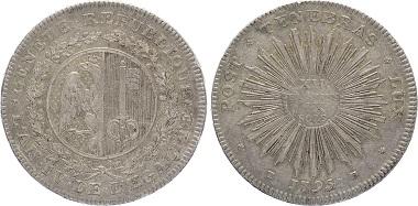 SCHWEIZ. GENF. 12 Florins/9 Sols 1795TB D./T. 163; HMZ 339h. Feine Patina, fast vorzüglich. Bestell-Nr. S15-111 für 550 Euro.