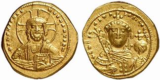 CONSTANTINUS IX. Tetarteron Nomisma. Ex Lanz 141 n. 891. 4,04 g.