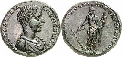 DIADUMENIAN. Bronze. Ex Gorny & Mosch 186, lot n. 1530. 12,38 g.