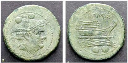 ANONYM. Sextans. Ex Tkalec (08.09.2008) n.199. 10,53 g.