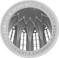 Hungary / 10,000 Forint / Ag .925 / 24g / 37mm / Design: László Szlávics Jr. / Mintage: 5,000.