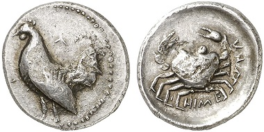 Himera. Didrachm, 483-472. From Gorny & Mosch Auction 212 (2013), 1112.