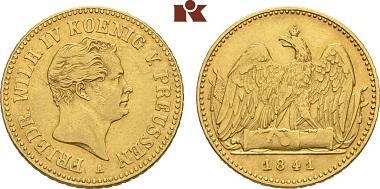 Brandenburg-Preussen, Friedrich Wilhelm IV., Friedrichs d'or, 1841 A.