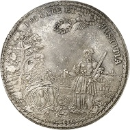 Lot 1785: GERMANY / BRUNSWICK-LÜNEBURG. George William, 1648-1665. Löser of 5 reichstaler 1660, Zellerfeld. Extremely rare. Extremely fine. Estimate: 15,000 euros. Hammer price: 65,000 euros.