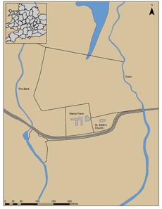 Bei Little Carlton, einem Ort in Lincolnshire stieß Graham Vickers auf Überreste einer bedeutenden anglo-sächsischen Siedlung aus dem 8./9. Jahrhundert n. Chr. Quelle: University of Sheffield.