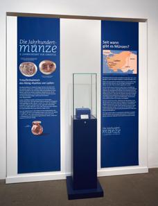 Präsentation der Jahrhundertmünze im Museum August Kestner. Foto: Landeshauptstadt Hannover, Museum August Kestner, Christian Tepper.