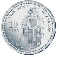 Spain / 10 Euros / Silver .925 / 27g / 40mm / Mintage: 7,500.