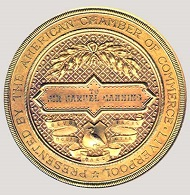The medal's reverse.