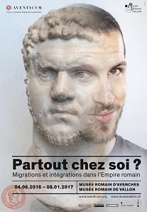 Plakat der Ausstellung. © Site et Musée romains d'Avenches.