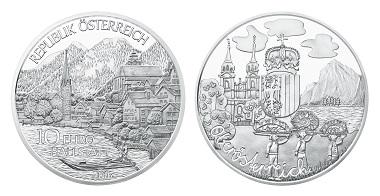 Austria / 10 Euros / Silver .925 / 17.3 g / 32 mm / Design: Thomas Pesendorfer and Herbert Waehner / Winner of competition: Klara Baumgartner / Mintage: 40,000.