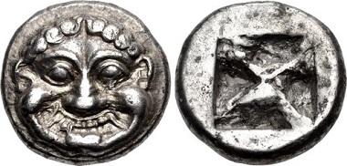Lot 435871: Attica, Athens. Circa 545-525/15 BC. Didrachm. $75,000.