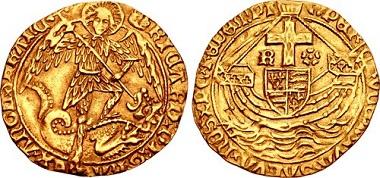 Lot 431568: York (Restored). Richard III. 1483-1485. Angel. $39,500.