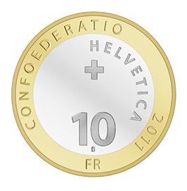 Schweiz. CHF 10